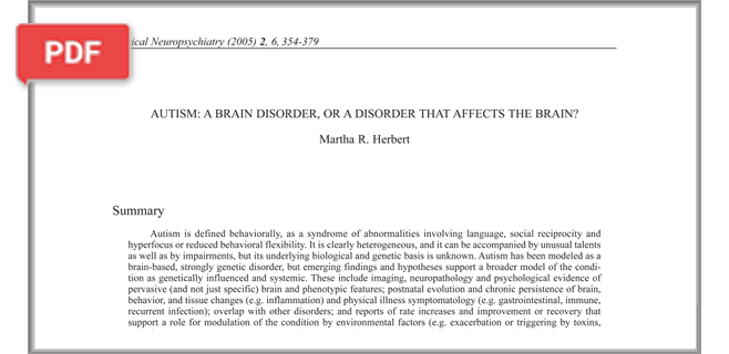 Learner's Edge Research Summaries on Neurodevelopmental Disorders article